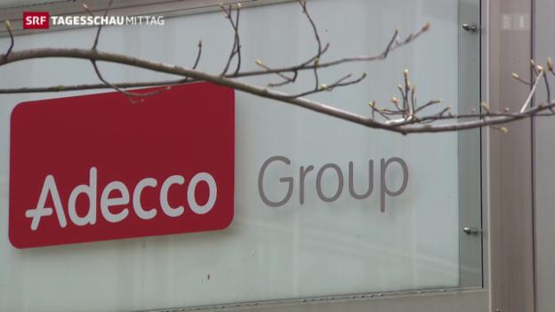 Video «Adecco mit Mini-Gewinn» abspielen