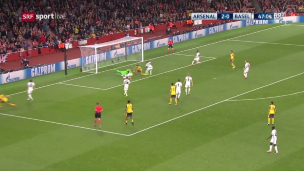 Video «Arsenal - Basel: Die Live-Highlights» abspielen