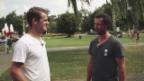 Video «Neuankömmling vs. Urgestein mit Genoni und Gerber vom SCB» abspielen