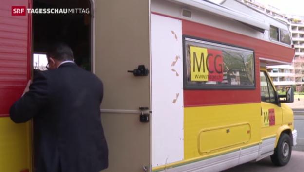 Video «MCG in Genf stagniert» abspielen