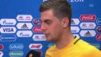 Video «Juric: «Im Mittelfeld waren wir panisch» (engl.)» abspielen