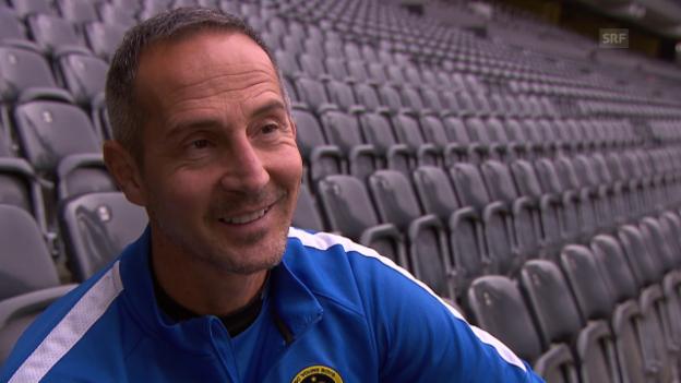 Video «Fussball: 5 Fragen an Adi Hütter» abspielen
