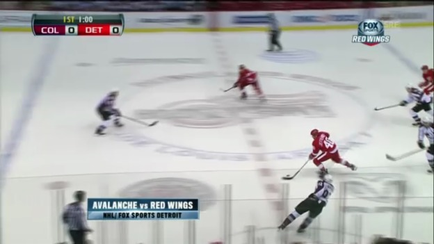 Video «Highlights: Colorado Avalanche - Detroit Red Wings» abspielen