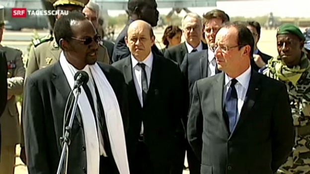 Video «Hollande in Bamako» abspielen