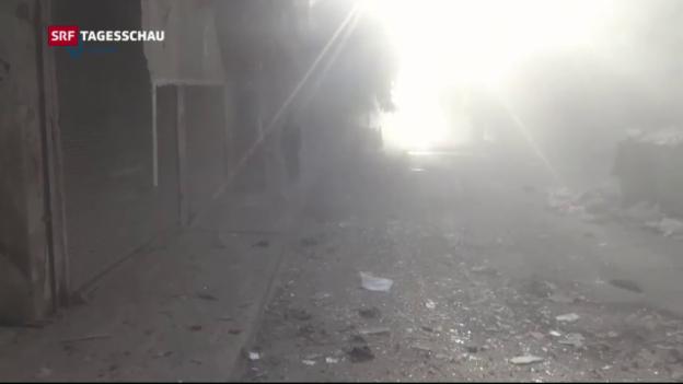 Video «Assad schickt Bodentruppen zum Sturm auf Aleppo» abspielen