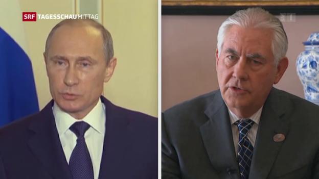 Video «Russisch-amerikanische Beziehungen auf Tiefstand» abspielen