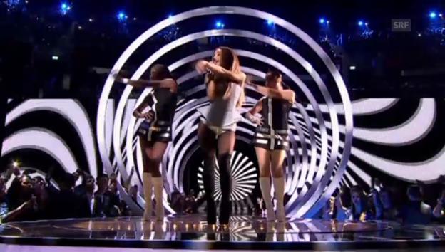 Video «MTV EMA 2014 in Glasgow» abspielen
