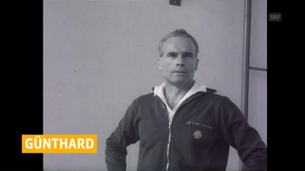 Video «Kunstturner Jack Günthard im Alter von 96 Jahren verstorben» abspielen