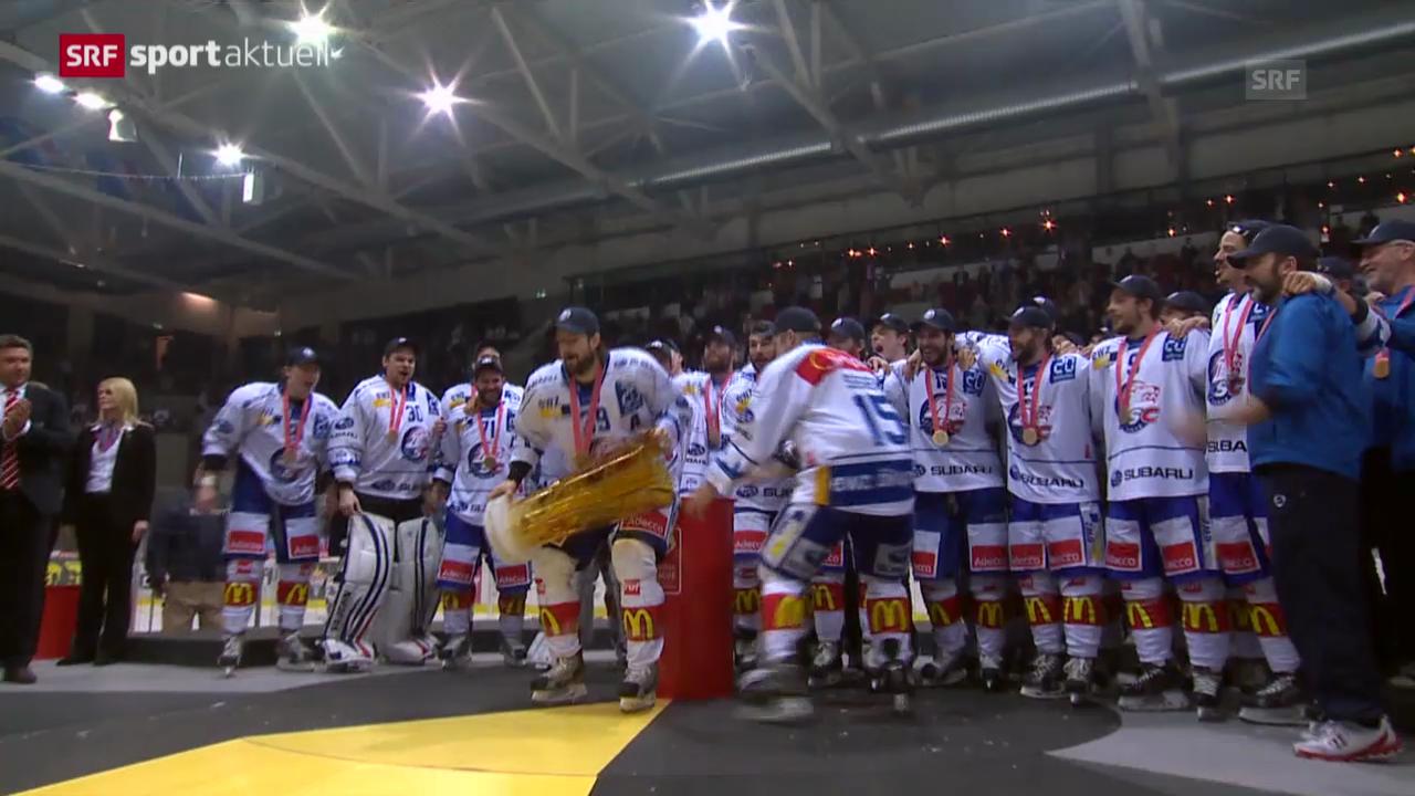 Eishockey: Zusammenfassung Kloten - ZSC Lions