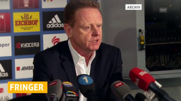 Video «Rolf Fringer als Sportchef beim FC Luzern entlassen» abspielen