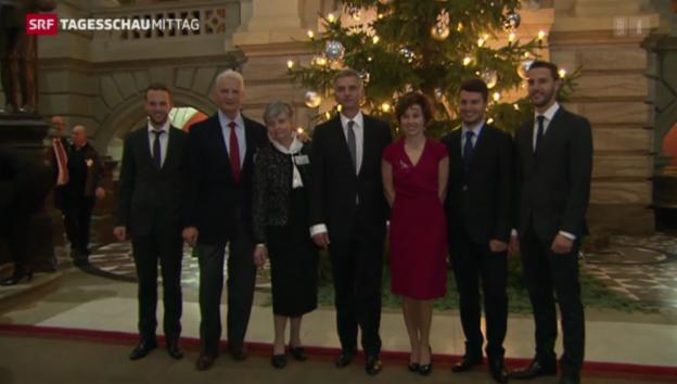 Video «Glanzresultat für Didier Burkhalter» abspielen
