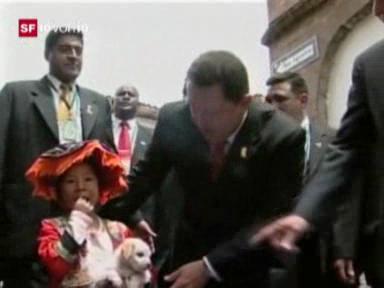 Video «Kopf des Tages: Hugo Chavez» abspielen