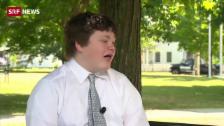 Link öffnet eine Lightbox. Video 14-Jähriger kandidiert als Gouverneur abspielen