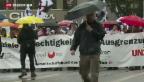 Video «1. Mai: Umzüge, Feiern, Reden» abspielen
