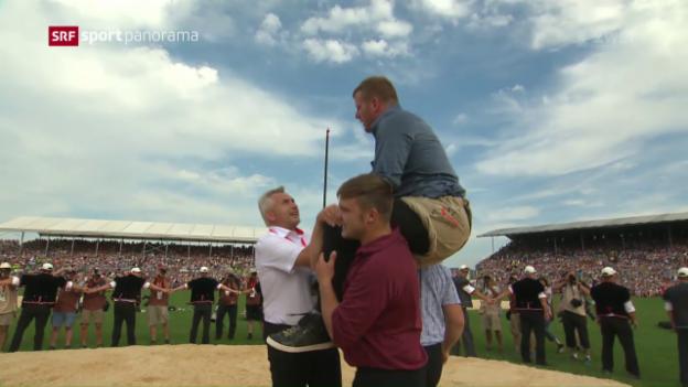 Video «Glarner gewinnt Schlussgang gegen Orlik» abspielen