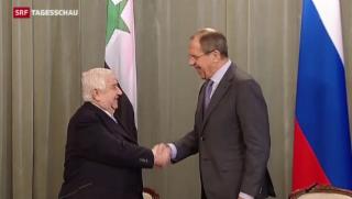 Video «Vor Syrien-Konferenz: Assad bietet Waffenruhe an» abspielen