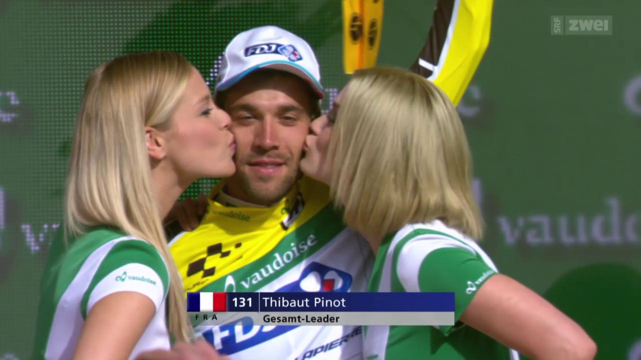 Rad: 5. Etappe der Tour de Suisse