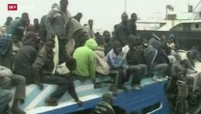 Video «FOKUS: EU-Einsatz gegen Schlepper» abspielen