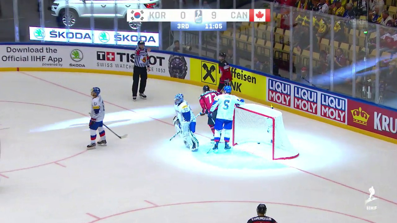 Kanada mit «Stängeli» gegen Südkorea