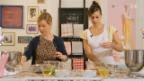 Video «Michelle Burke und Myriam bereiten die Cupcakes zu» abspielen