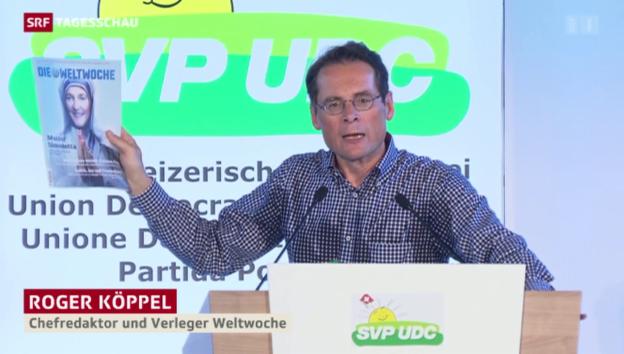 Video «SVP nimmt Sommaruga ins Visier» abspielen