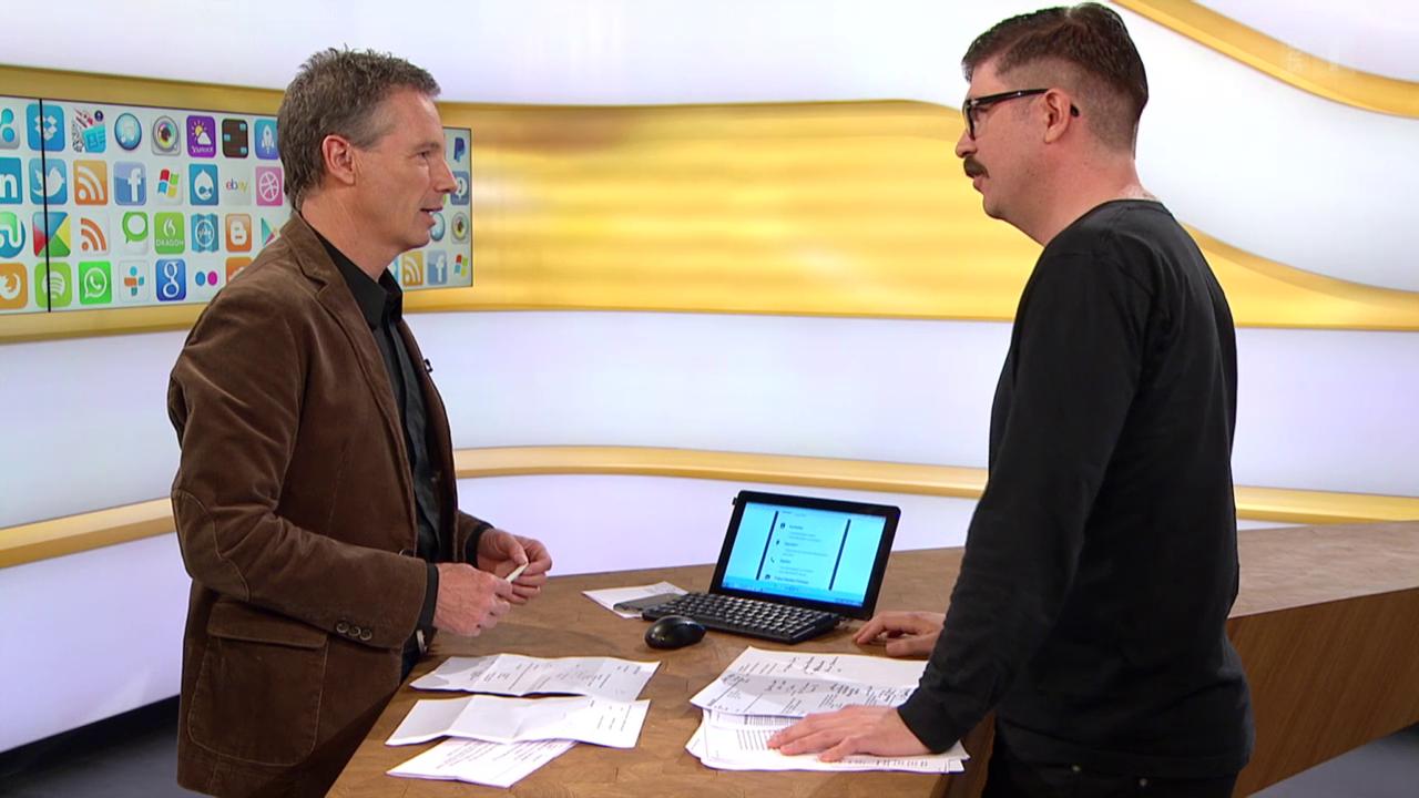 Studiogespräch mit Guido Berger von der SRF Digital-Redaktion