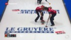 Video «Curling-EM: Schweizer Teams gewinnen gegen deutsche Kontrahenten» abspielen