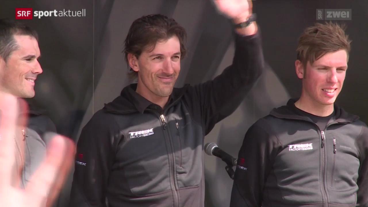 Rad: Fabian Cancellara vor Paris-Roubaix