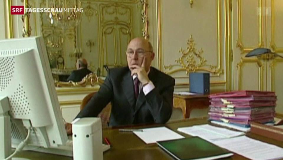 Frankreichs Finanzminister zu Besuch in Bern