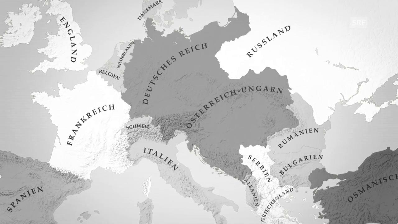 Der Überrschaungsangriff über Belgien