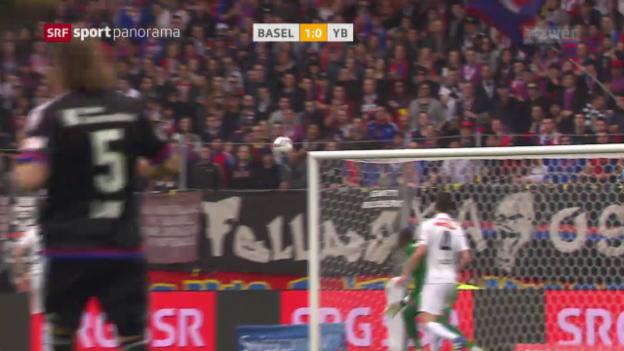 Video «Basel schlägt YB im Spitzenspiel» abspielen