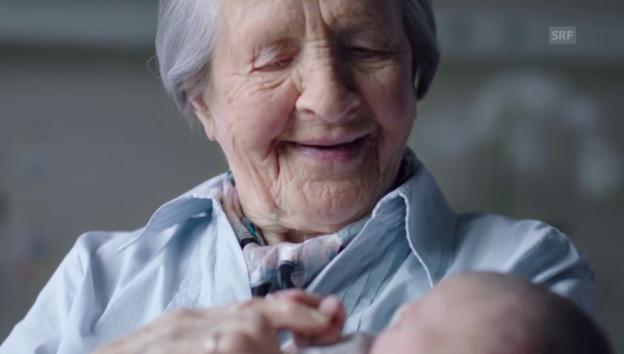 Video «Rosa Witschi wurde mit einer Werbung berühmt» abspielen