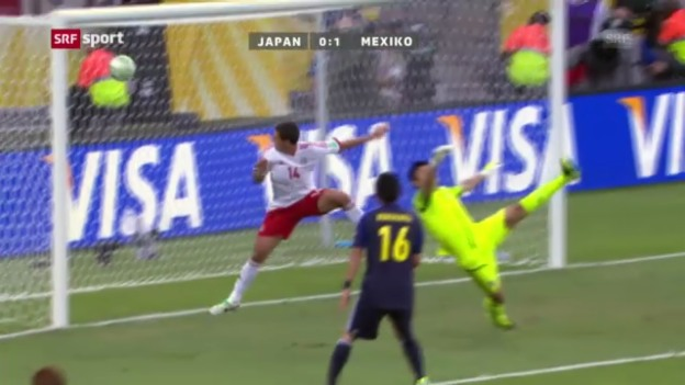 Video «Confed Cup: Japan - Mexiko» abspielen