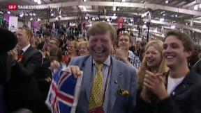 Video «Schottland sagt Nein zur Unabhängigkeit» abspielen