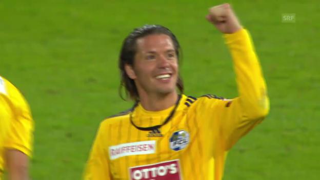 Video «Fussball: Super League, Aarau - Luzern, Zusammenfassung» abspielen