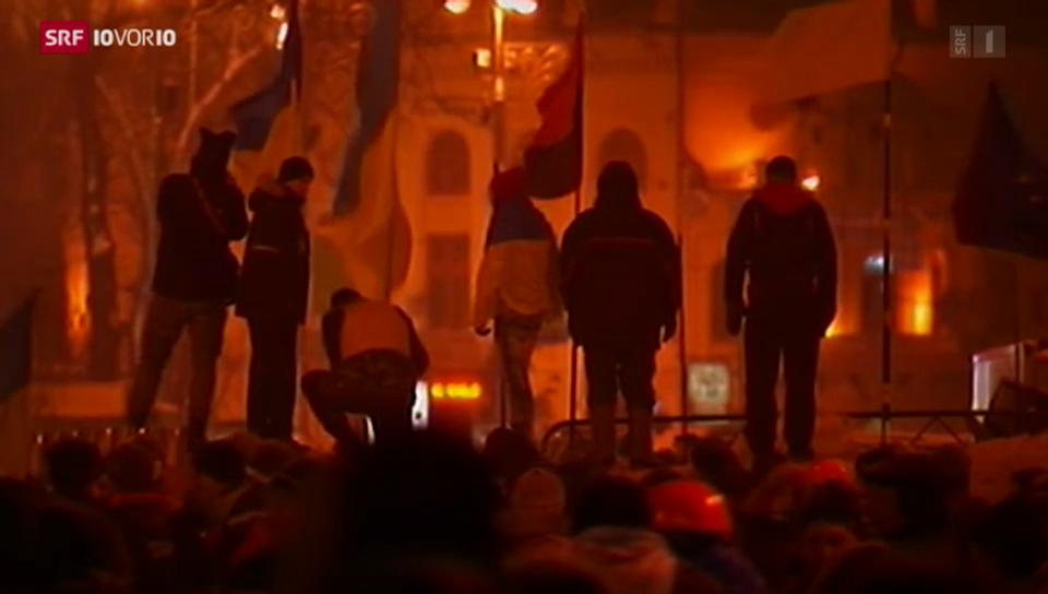 Proteste in der Ukraine dauern an