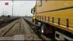 Video «Verlagerung auf die Schiene stockt» abspielen