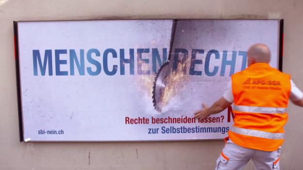 Video «Fremde Richter, Hans-Ueli Vogt, in der Schuldenfalle, US-Botschafter in Bern» abspielen