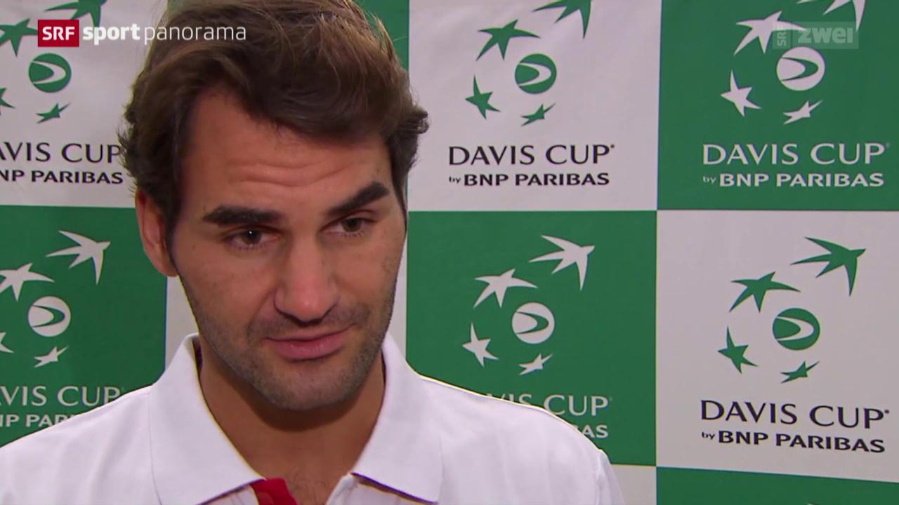 Tennis: Roger Federers Davis-Cup-Zukunft