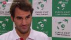 Video «Tennis: Roger Federers Davis-Cup-Zukunft» abspielen