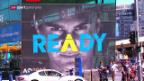 Video «Roger Federers Rückkehr auf die grosse Bühne» abspielen