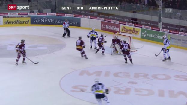 Video «NLA: Genf-Servette - Ambri-Piotta» abspielen