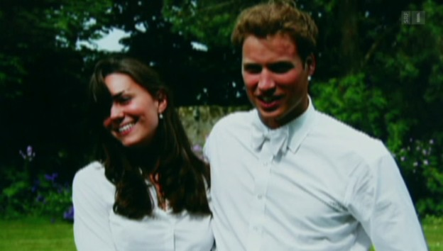 Video «Kate und William feiern ihren vierten Hochzeitstag» abspielen