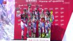 Video «Ski alpin: Saisonfinale in Méribel, Teamevent» abspielen