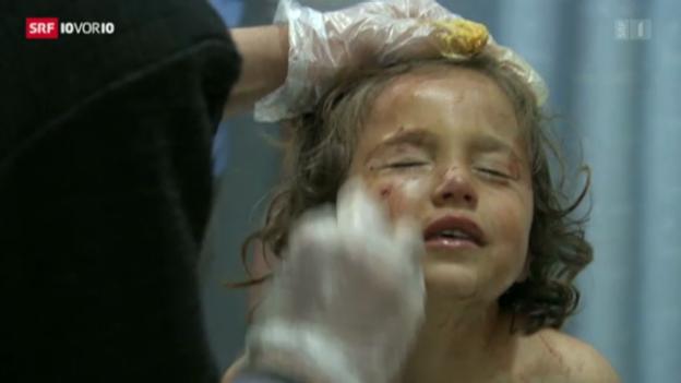 Video «Kriegskinder in Syrien» abspielen