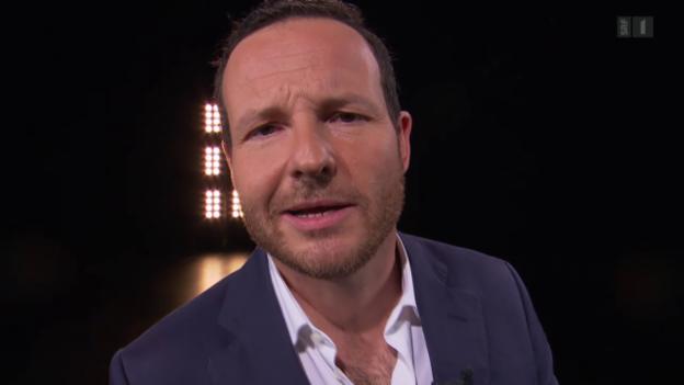 Video «Neuer Schlusspunkt: Komiker Zuccolini neu im «Kassensturz»» abspielen