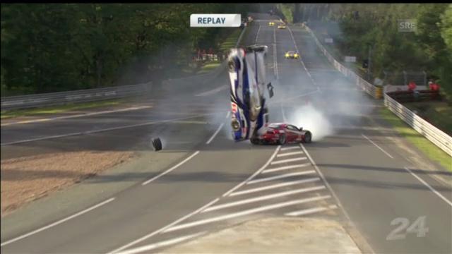 Motorsport: Le Mans Unfälle («sportpanorama»)