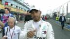 Video «Hamilton krallt sich erste Pole der Saison» abspielen