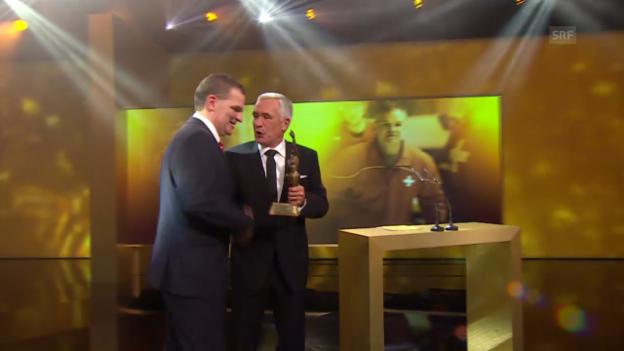 Video ««Sports Awards»:Simpson ist Trainer des Jahres» abspielen