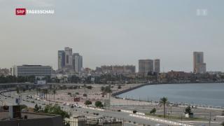 Video «Libyen kämpft mit zahlreichen Problemen» abspielen